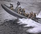 Barca gonfiabile militare