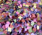 Rompicapo di Coriandoli di colori