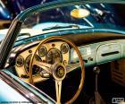 Cruscotto di un auto d'epoca