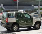 Auto della polizia di Dubai