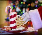 Babbo Natale e dolci