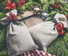 Sacchetti regalo di Natale