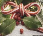 Rompicapo di Nastro di canna di Natale
