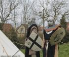 Due soldati del Medioevo