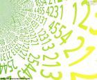 Spirale di numeri