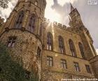 Dettaglio del Castello di Hohenzollern, Germania