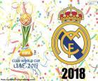 Real Madrid, campione del mondo 2018