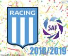 Racing Club, campione 2018-2019