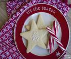 Biscotti e canne di Natale