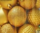 Palle d'oro per Natale