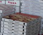 Scatole per pizze a casa