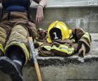 Vigile del fuoco a riposo