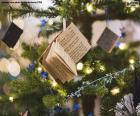 Piccoli libri di abbellimento natalizio