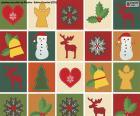 Carta motivo natalizio