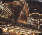 Luci del mercatino di Natale