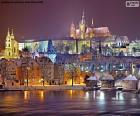Praga di notte, Repubblica Ceca