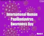 Giornata internazionale di sensibilizzazione sul papillomavirus umano