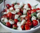 Insalata di pomodoro e mozzarella