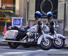 Motociclette della polizia di New York