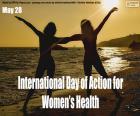 Giornata internazionale dell'azione per la salute della donna