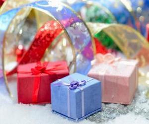 Rompicapo di Regali di Natale ben presentati