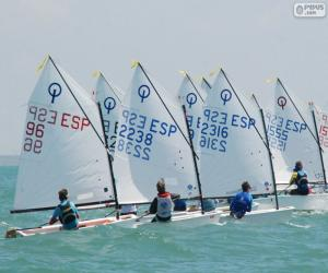Rompicapo di Regata Optimist