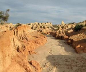 Rompicapo di Regione dei Laghi Willandra, Australia