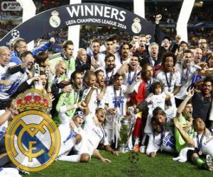 Rompicapo di Reial Madrid, campione UEFA Champions League 2013-2014