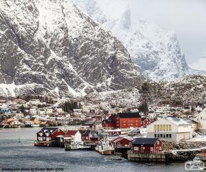 Rompicapo di Reine, Norvegia