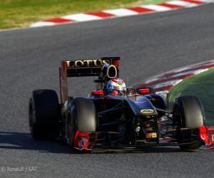 Rompicapo di Renault R31 - 2011 -