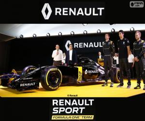 Rompicapo di Renault Sport F1 2016