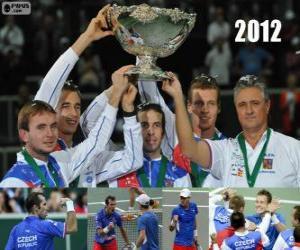 Rompicapo di Repubblica Ceca, campione della Coppa Davis 2012