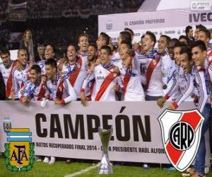 Rompicapo di River Plate, campione Torneo finale Argentinan 2014