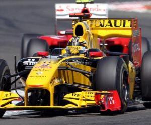 Rompicapo di Robert Kubica - Renault F1 - Silverstone 2010