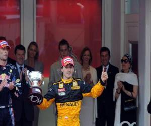 Rompicapo di Robert Kubica - Renault - Monte-Carlo 2010 (terza classificata)