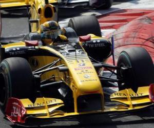 Rompicapo di Robert Kubica - Renault - Monza 2010