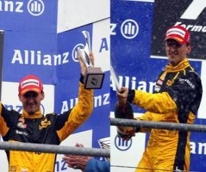 Rompicapo di Robert Kubica - Renault - Spa-Francorchamps, Gran Premio del Belgio 2010 (terza classificata)
