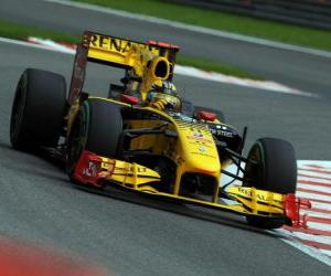 Rompicapo di Robert Kubica - Renault - Spa-Francorchamps 2010