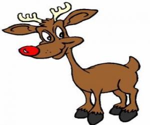 Rompicapo di Rodolfo, la renna dil naso rosso