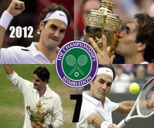 Rompicapo di Roger Federer campione Wimbledon 2012