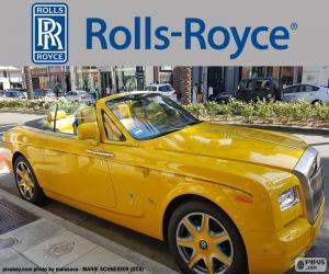Rompicapo di Rolls-Royce giallo
