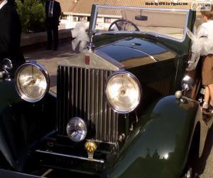 Rompicapo di Rolls-Royce nuziale