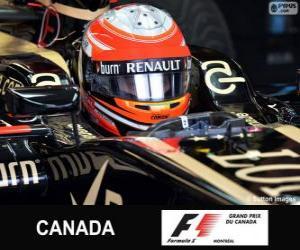 Rompicapo di Romain Grosjean - Lotus - circuito Gilles Villeneuve, Montreal, 2013