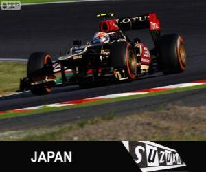 Rompicapo di Romain Grosjean - Lotus - Gran Premio del Giappone 2013, 3 ° classificato