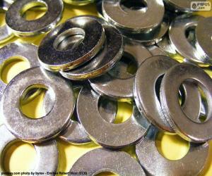 Rompicapo di Rondelle di metallo