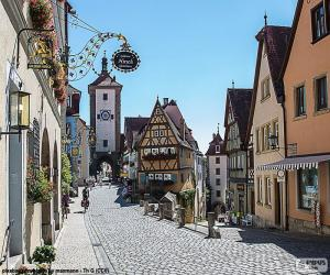 Rompicapo di Rothenburg, Germania