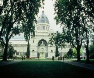 Rompicapo di Royal Exhibition Building and Carlton Gardens, progettato dall'architetto Joseph Reed. Australia