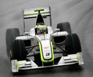 Rompicapo di Rubens Barrichello pilota il F1