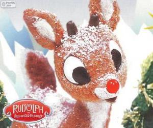 Rompicapo di Rudolph, la piccola renna con naso rosso
