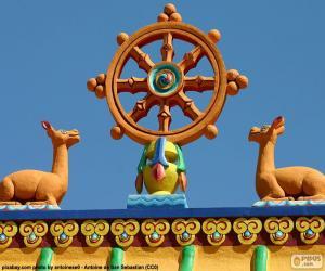 Rompicapo di Ruota del Dharma